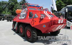 Спасителна Амфибия {БТР-60 гражданска модефикация} за Продажба