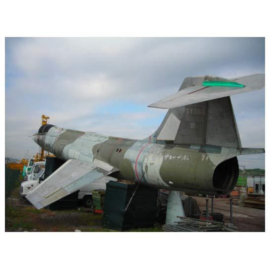 Lockheed F-104 Starfighter {Демилитаризиран} {06 Броя} за Продажба