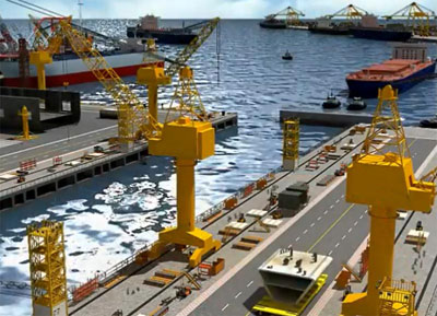 Shipyard and Port for sale, EU shipyards looking for a buyer or Looking for Investors