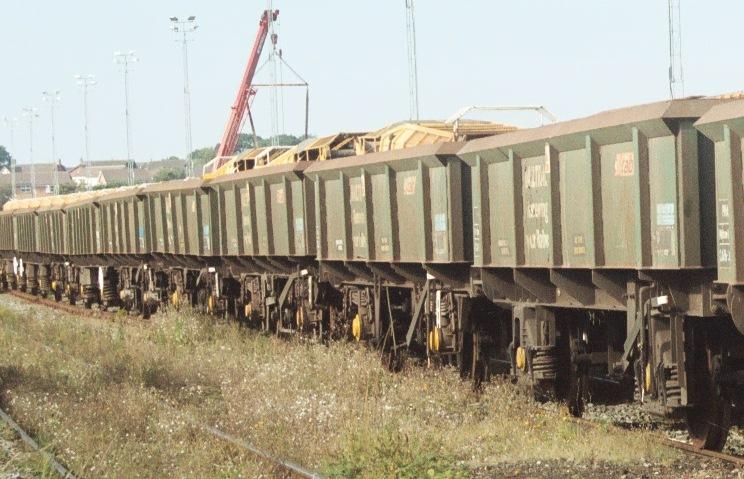 PNA Ballast/spoil Wagons