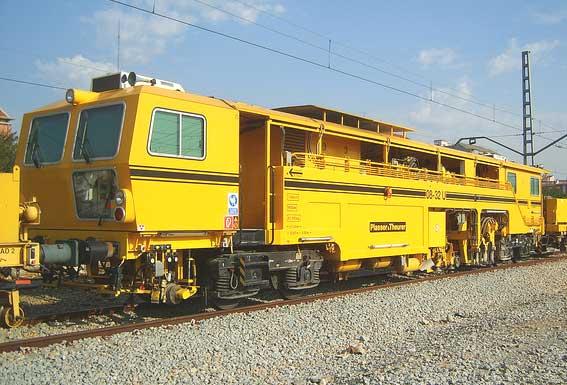 ПРО  Подбивна ж.п. машина 08-32 (След кап.ремонт 2012 year, Модернизирана  версия от REMTECH)