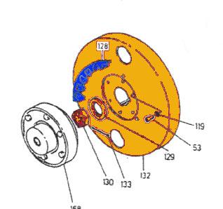 REM.U20.1025 (U20.1025) Flywheel {Replace Plasser U20.1025} fo Sale