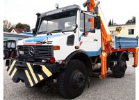 New Project 2016 = Rail/Road Unimog {Production 1991 year, Modernization 2016 year: Install crane PALFINGER, 4x4} for Sale