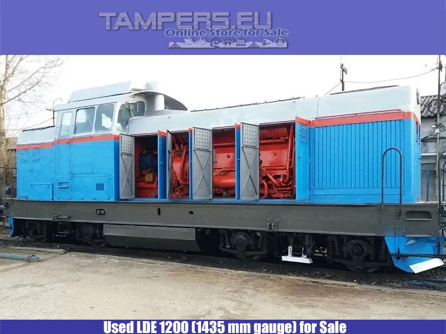 Втора употреба локомотив LDE 1200 (Производство 198* година, серия 55.00, междурелсие 1435 mm) за Продажба
