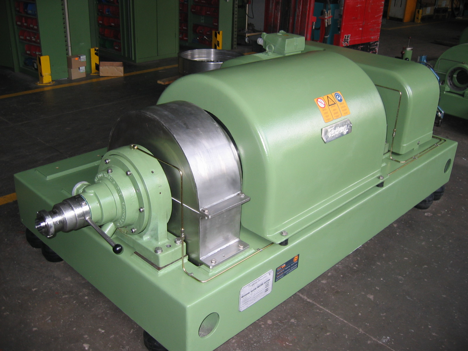Rebuilt 2013 Flottweg tricanters type Z 42-3/441