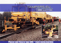 REBUIL 2012* Plasser and Theurer type SMD-** track-laying machine for Sale