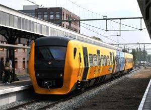 Diesel rail car DUEWAG 140 km/h