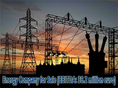 Energy Company for Sale {EBITDA: 38.2 million euro} /Access only for registered customers!/