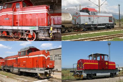 For rent locomotive series 52/55 (LDH1250)