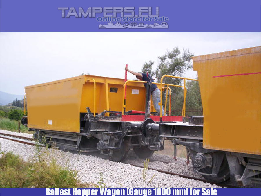 Реконструирани 2005 година Хопер вагони (07 Броя, Основен ремонт 2005 г., жп габарит 1000 мм) за Продажба