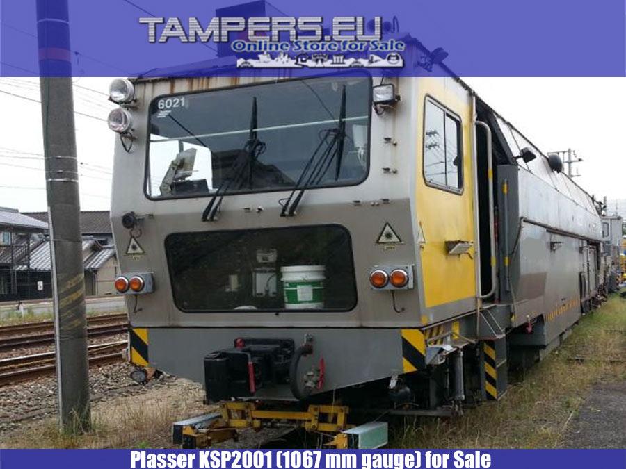 Plasser and Theurer Regulator + Stabilizer - KSP2001, 1994 year (Broad Gauge Track: 1067 mm) for Sale