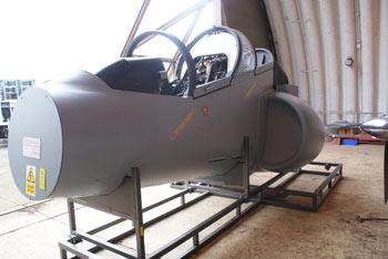 Ex-военен кокпит за самолети Harrier/Хариер за Продажба
