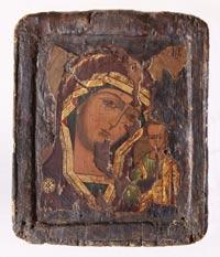 Икона от 17-18-ти век {Сертификат за автентичност}
