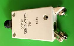 REM.EL-T7126/8А Авт. Прекъсвач (Заменя Plasser EL-T7126/8А Circuit Breaker)