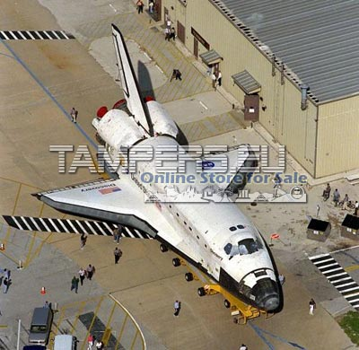 Пълно мащабна Космическа Совалка Модел {с Проект за Супер атракцион за МОЛ при осигурено инвестиционно кредитиране} за Продажба