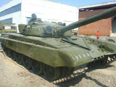 Tank T72 {Demilitarized} for Sale