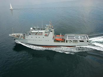 ex-Navy patrol Ships 2002 *Demilitarized, located in EU for Sale