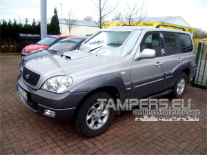 Armored SUV (VIP) Hyundai Terracan 2.9 CRDi GLS 2007 {BR4 protection level} for Sale