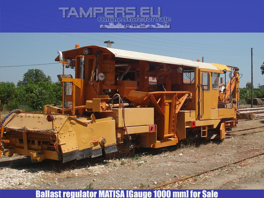 REBUILT 2005 year Regulator Matisa (gauge 1.0m)