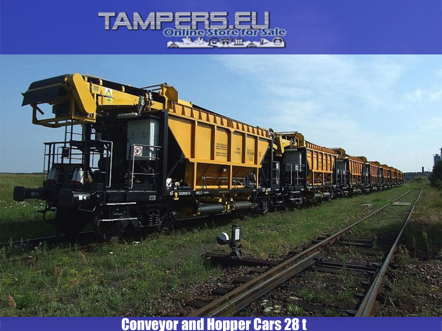 USED 2008 Conveyor and Hopper Cars 28 t {2008 year production, 10 units } - 1435 gauge for Sale