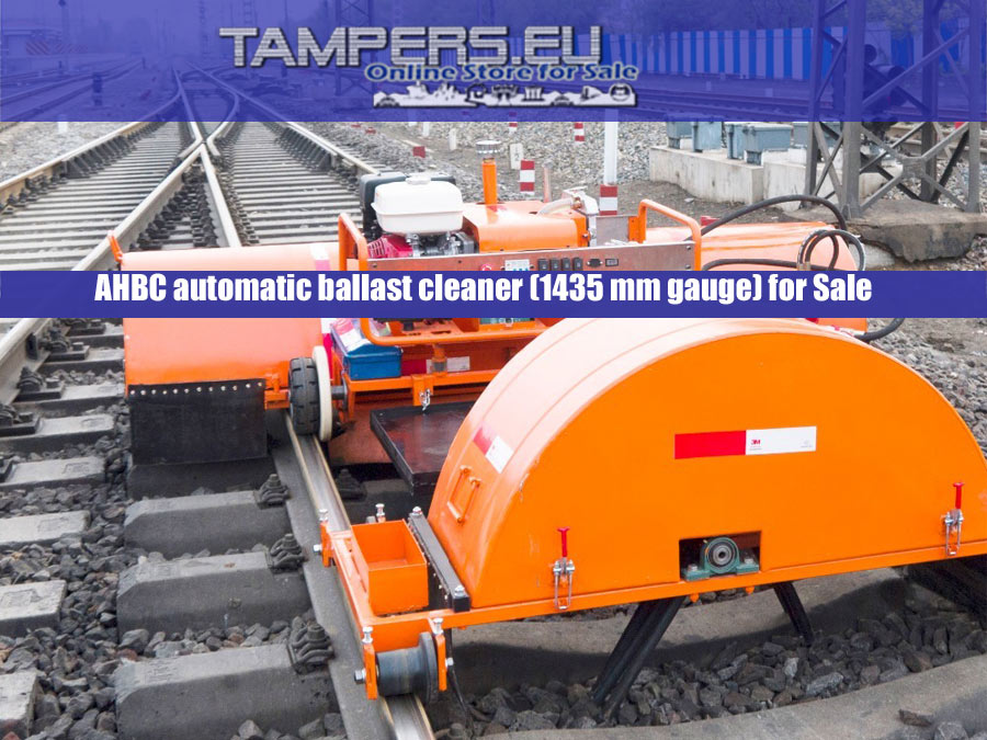 REM.RRV Нови Автоматичен хидравличен баласто почистващ жп модул(1435 мм междурелсие) в Продажба