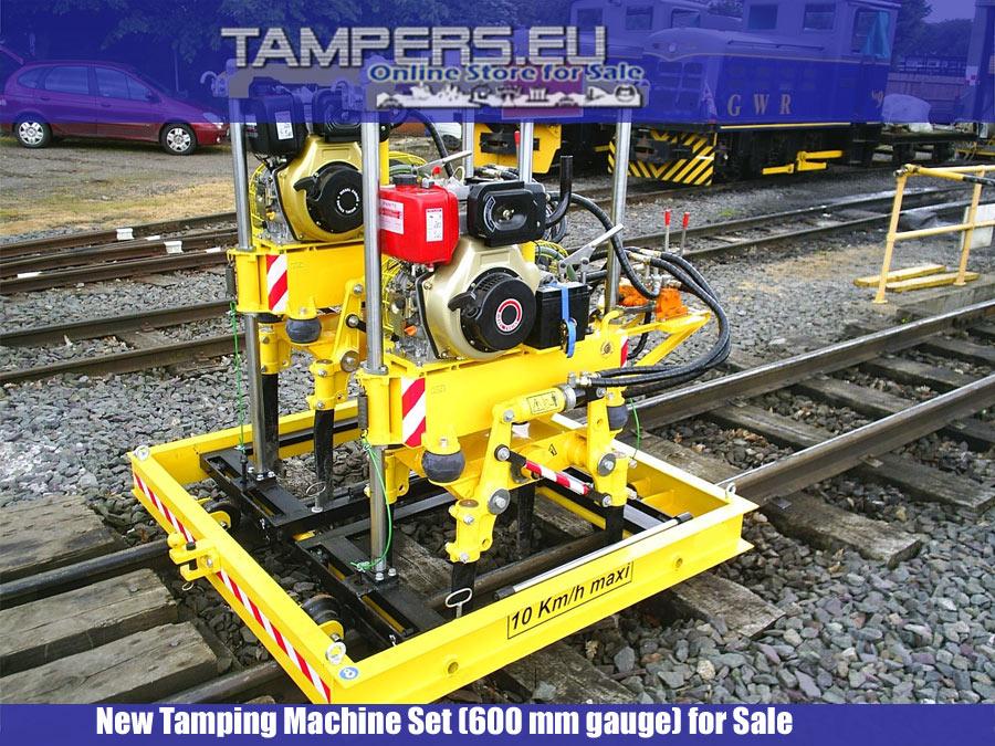REM.D22-600 Нова подбивна машина към Unimog (задвижващ мотор ДВГ-хидравлика 600 мм междурелсие) в Продажба