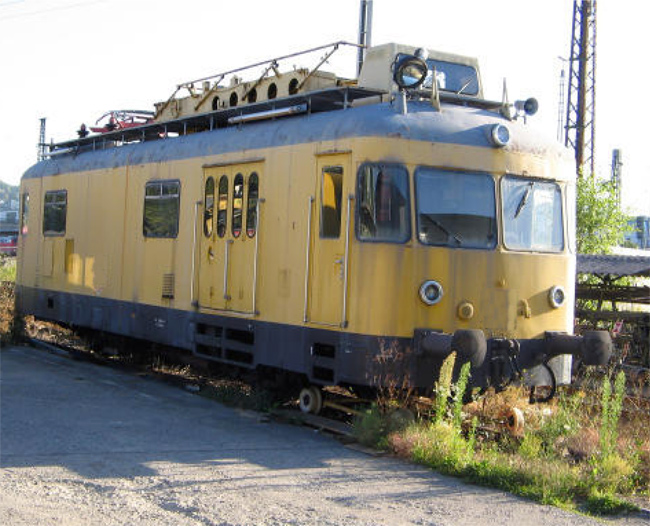 Maintenance rail car 701 1962 for sale for Railroad motor cars for sale