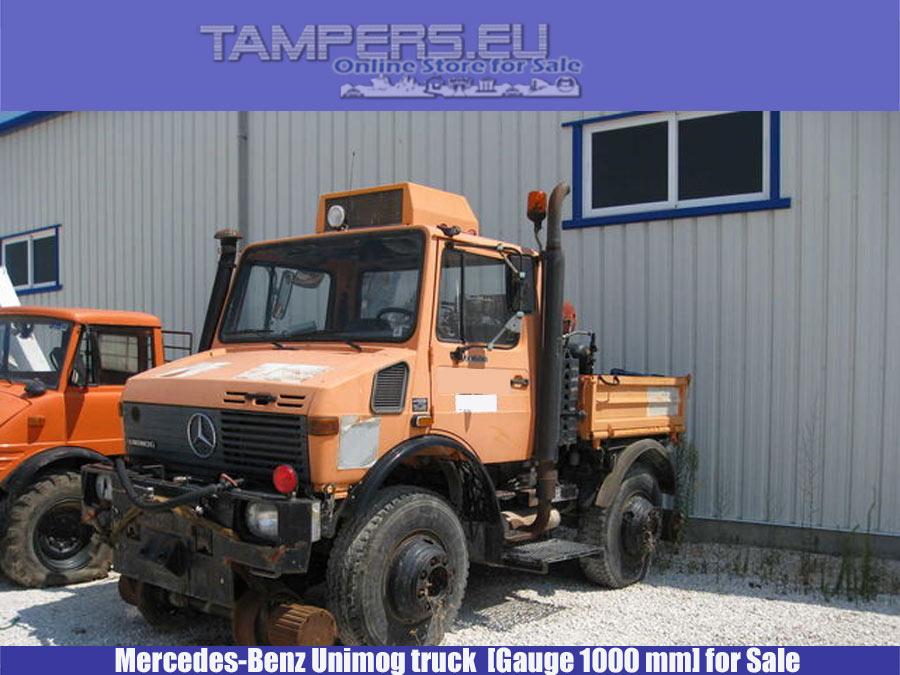 Камион Mercedes-Benz Unimog (03 Броя, REBUILT 2005 г., жп габарит 1000 мм) за Продажба