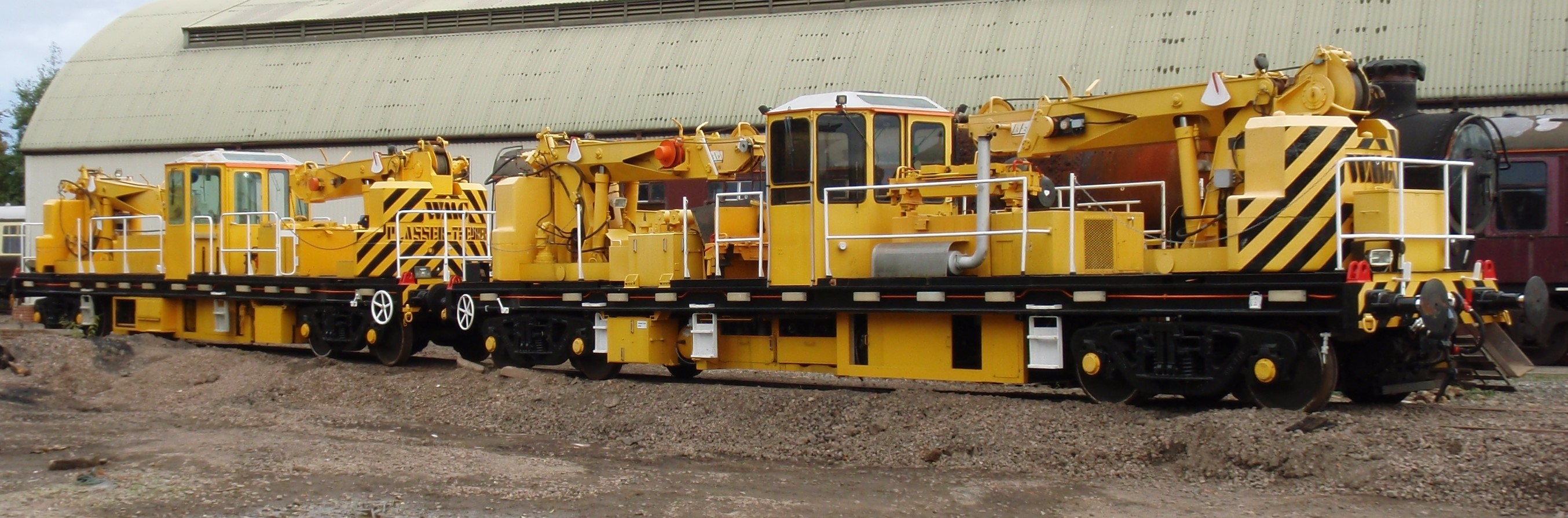 Plasser TRM Track Relaying Machine
