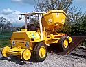 Rail/Road dumper Terex 6000