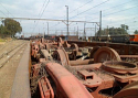Scrapped Side Frames, Bolster & Bogie Sets {8000 t} for Sale in AUCTION.TAMPERS.EU
