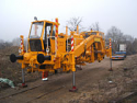 REBUILT 2013 year Universal tamping machine for track and switches Plasser 08-75 SP-T