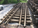 Used S49 Railroad switch and rail for Sale
