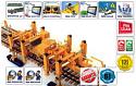 PRO Railway Track-Laying Crane TL-50/REMv1.0 (Rebuilt 2016* year, Modernized version of REMTECH)