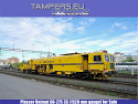 Universal tamping machine for track and switches 08-275 Unimat 3S Plasser (Broad Gauge Track: 1520 mm) for Sale