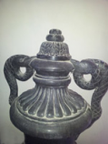 Аmphora of black marble {Certificate of authenticity} for Sale