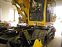 REBUILT 2012 year Rail/Road excavator Liebherr 900