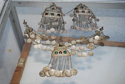 Old set of female ornaments, low sample silver, 18-19 century for Sale