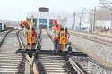 REM.D32 New Rail Switch Tamping Machine {Hydraulic tamping Unit, Broad Gauge Track=1435mm} for Sale