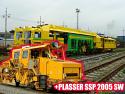 Plasser Подбивна жп машина Tamper Unimat 09-16/4S+SSP 2005 SW {1435 mm жп релсие} под Наем в Чехия (Европа)