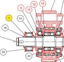 REM.U21.720 Support ring {Replace Plasser U21.720}