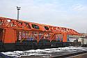 REBUILT 2013* year Rebuilt Railway Track-Laying Crane UK25/9-18/ Broad Gauge Track: 1520 mm