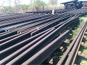 Used S49 Railroad switch {without sleepers} and Rail  {1500 ton} for Sale