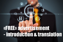 «FREE» ADVERTISEMENT for Sale = Package Service: Introduction & Translation «01 Add»