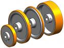REM-EL-T490.04 Roller (Replace Plasser EL-T490.04)
