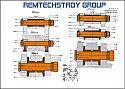 REM SET 09-3X TAMPING UNIT-SECTIONS REM.UD19.1900-X/19.1902/19.1903 {Replace Plasser Set UD19.1900-X/19.1902/19.1903}