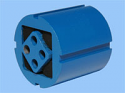 REM.DK-A27X40 Гумен елемент (Заменя Plasser DK-A27X40 Rubber element)
