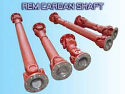 REM.KGW180.1000.110.00 Cardan Shaft (Replace Plasser KGW180.1000.110.00 Cardan Shaft)