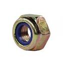 REM.M10X1DIN985-8.8/VERZ Nylon Insert Lock Nut  (Replace Plasser M10X1DIN985-8.8/VERZ)