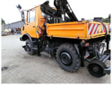 REBUILT 2015 = Rail/Road Unimog {Production 1986 year, Modernization 2015 year: Install crane HIAB 060 and painting, 4x4} for Sale